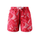 SZORTY REIMA KIDS TAHITI RED 582456-3716/104
