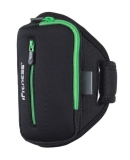 POKROWIEC FITNESS NA RAMIĘ ARM01 BLACK/GREEN