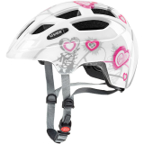KASK UVEX FINALE JR HEART WHITE
