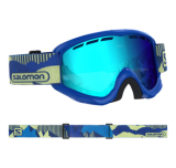 Gogle Salomon JUKE Blue pop/Univ. Mid Blue