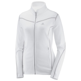 bluza Salomon ATLANTIS FZ W White
