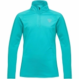 BLUZA ROSSIGNOL GIRL 1/2 ZIP WARM STRETCH