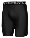 BOKSERKI UNDER ARMOUR HG COMP.SHORT CZARNO-BIAŁE