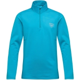 BLUZA ROSSIGNOL BOY 1/2 ZIP WARM STR. METHYL
